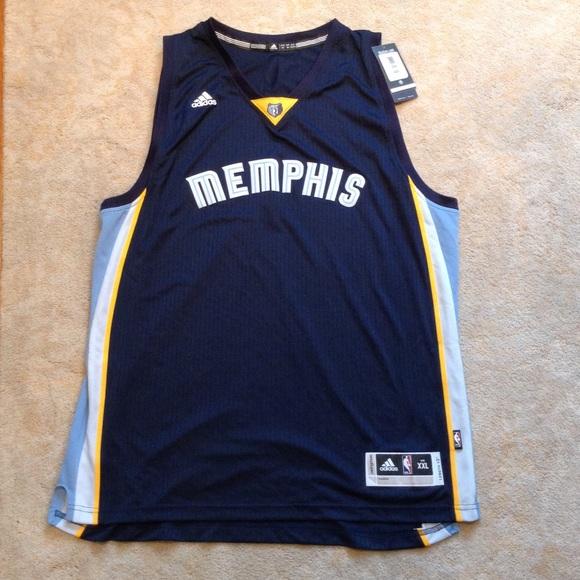 release date: 75d7b 21f9d Plain Memphis Grizzlies NBA jersey NWT